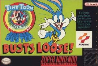 Screenshot Thumbnail / Media File 1 for Tiny Toon Adventures - Buster Busts Loose! (USA) (Beta) [Bug Fix by KingMike v1.0] (Train Bug Fix)